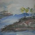 Navarro River Inlet by Edward Wolverton
