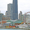 Navy Pier And Vicinity by Ann Horn