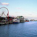 Navy Pier Chicago Summer Evening by Thomas Woolworth
