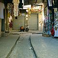Nazereth Shopping Area by Daniel Blatt