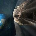 Near-earth Asteroid, Artwork by Henning Dalhoff