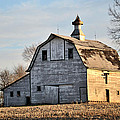 Nebraska Barn In Otoe County by Christine Belt