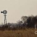 Nebraska Windmill by Pam  Holdsworth