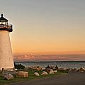 Neds Point Light House Mattapoisett Ma by Dolly Genannt