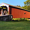 Neff's Mill Covered Bridge In Lancaster County Pa. by Bill Cannon