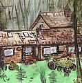 Neighbors Cabin Montana by Windy Mountain