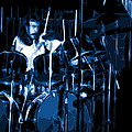 Blue Drums by Ben Upham