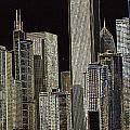 Neon Chi Town by Toma Caul