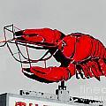 Neon Crawfish On Hwy 61 Baton Rouge by Lizi Beard-Ward