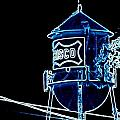 Neon Water Tower by Amy Hosp