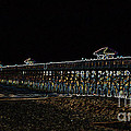 Neoned Pier by Lydia Holly