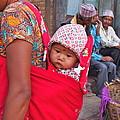 Nepali Baby by Kristina Burnham