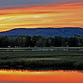 Nerepis Marsh At Dusk IIi by Jeff Galbraith
