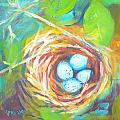 Nest Of Prosperity 1 by Pam Van Londen