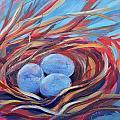 Nest Of Prosperity 3 by Pam Van Londen