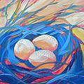 Nest Of Prosperity 4 by Pam Van Londen