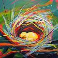 Nest Of Prosperity 7 by Pam Van Londen