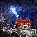 Nestled In For The Winter by Randall Branham