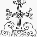 Nestorian Cross, 781 A.d by Granger