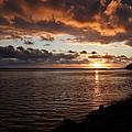 Netart's Bay Sunset 1 by Tony and Kristi Middleton
