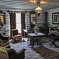 Nevada City Hotel Parlor - Montana by Daniel Hagerman
