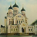 Nevsky Catedral by Ahto Laadoga