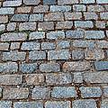 New Bedford Mass Brick Street 2006 by Carl Deaville