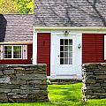 New England Farmhouse by Sarah Gayle Carter
