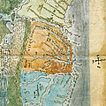New England To Virginia, 1651 by Photo Researchers
