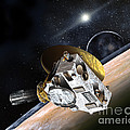 New Horizons Spacecraft At Pluto by NASA/Johns Hopkins University APL/Southwest Research Institute