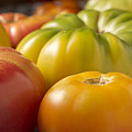 New Jersey Heirloom Tomatoes by Brian Yarvin