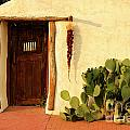 New Mexico Door at Sunset