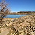 New Mexico Series - Abiquiu Lake IIi by Kathleen Grace
