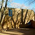 New Mexico Series - Shadows On Adobe by Kathleen Grace