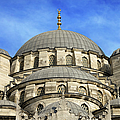 New Mosque Domes In Istanbul by Artur Bogacki