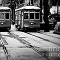 New Orleans Classic Streetcars. by Perry Webster