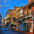 New Orleans Street Scene by Terry Sita