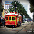 New Orleans Streetcar by Perry Webster