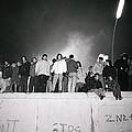 New Year At The Berlin Wall by Shaun Higson