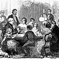 New Years Party, 1857 by Granger