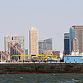 New York And The Barge by Alice Gipson