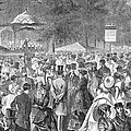 New York: Bandstand, 1869 by Granger
