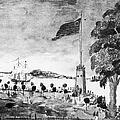 New York: Battery, 1793 by Granger