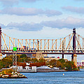 New York Bridge Water View by Alice Gipson
