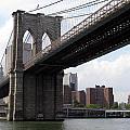 New York Bridges 1- Brooklyn Bridge by Ausra Huntington nee Paulauskaite