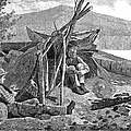 New York: Camping, 1874 by Granger