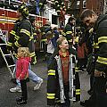 New York City Firefighters Host by Ira Block