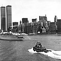 New York City Harbor by Underwood Archives