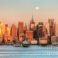 New York City Moonrise IIi by Clarence Holmes