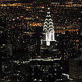New York City Skyline At Night by Darrell Young